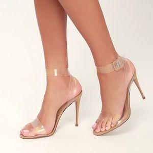 Steve Madden Seeme Translucent Stiletto-Heel Pump